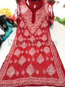 Ethnic Semi Stitched Ladies Suit