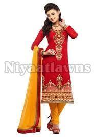 Jaipuri Semi Stitched Ladies Suit