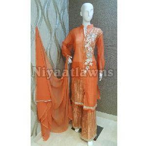 Ladies Fashionable Plazo Suit