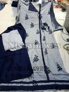 Limefab Printed Plazo Ladies Suit