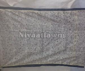 Modern Prints Pigment Block Printed Dress Material