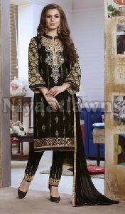 Unstitched Churidar Suit