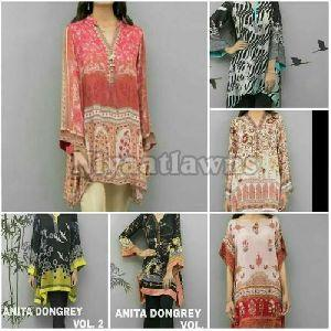 Unstitched Printed Dress Material