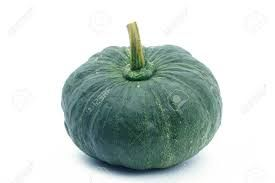 Fresh Green Pumpkin
