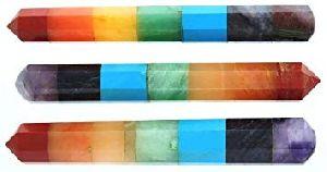 Faceted Massage Wand Stick
