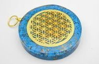 Round Orgonite Pendants