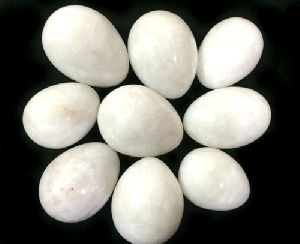 White Agate Eggs