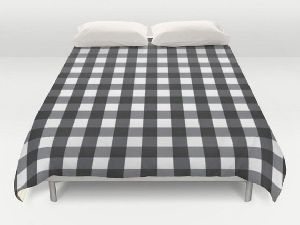Checkered Sleep Bed Mattress