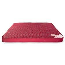 Red Double Bed Mattress