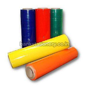 Coloured Stretch Film Rolls