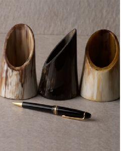 Horn Pen Holder