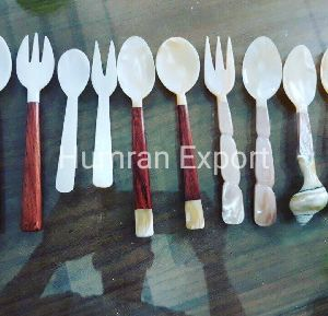 Mother of Pearl Spoons