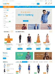 Online Cloth Shopping E Commerce Website