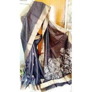 Zari Broad Tussar Saree