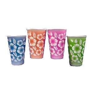 Disposable Printed Glass