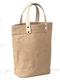 Jute Canvas Bag