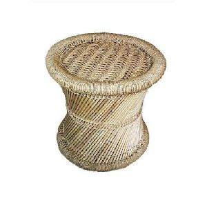 Bamboo Mudda Stool 01