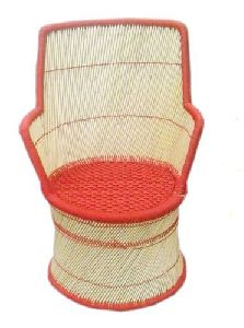 Orange and Brown Mudda Chair