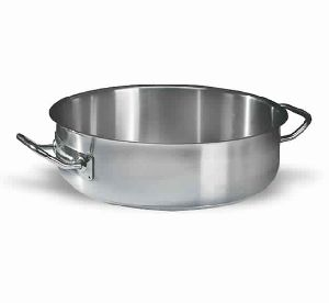 Stainless Steel Shallow Casserole