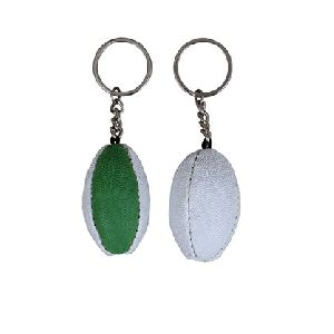 Promotional Rugby Ball KeyRing