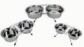 Stainless Steel Double Dinner Bowl