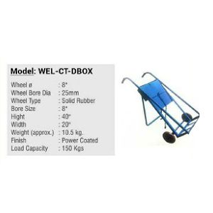 Cylinder Trolley - Single Double Gas Cylinder Trolley Cart