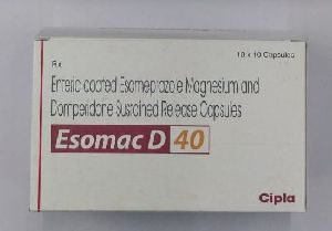 40mg Enteric coated Esomeprazole Magnesium and Domperidone Sustained Release Capsule