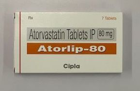 80mg Atorvastatin Tablets