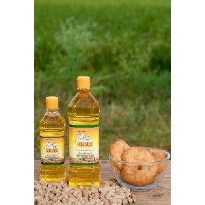 Organic Wood Pressed Groundnut Oil