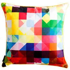 Multi Colored Pillow Covers