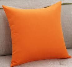 Orange Pillow Covers