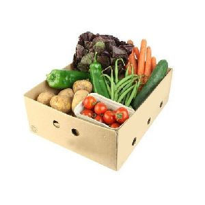 Vegetable Corrugated Box