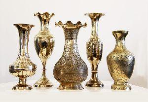 Decorative Brass Vase