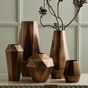 Decorative Metal Vase