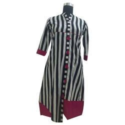 Striped Casual Kurti