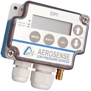 Aerosense Model DPT2500-R8-3W Differential Pressure Transmitter Range 0-100 Pa
