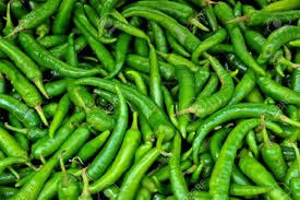 High Quality Green Chilli
