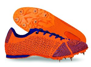 Skylite Orange Spikes Shoes