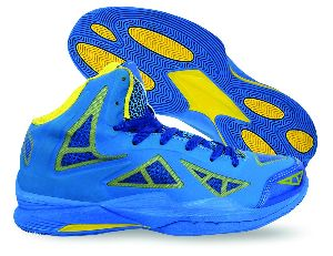 Typhoon Blue Basketball Shoes