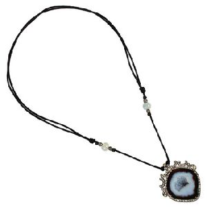 Gemstone Designer Handmade Wholesale Geode Necklace