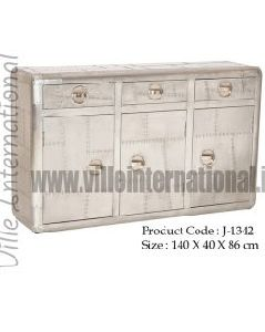 Aviator Sideboard with three drawers