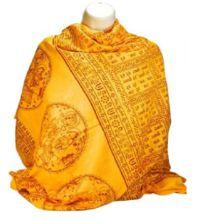 Gayatri Mantra Shiva Mantra Printed Shawl
