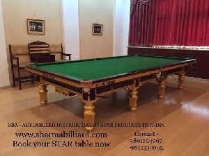 Star Billiard Table