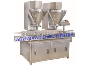 Automatic Double Head Auger Powder Filling Machine