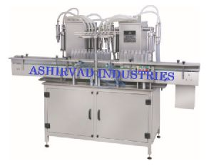 Automatic Eight Head Liquid Bottle Filling Machine