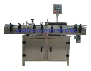 Automatic Servo Based Sticker Labeling Machine