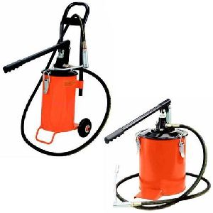 Bucket Grease Pump - Grease Dispenser With / Without Trolly 10 KG
