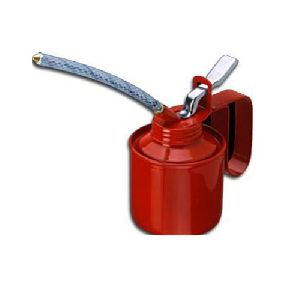 "Oil Can -1/4"" Pint Steel Pump Fixed / Flexible Spout B1-213"