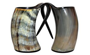 Unique Natural Drinking Horn Mugs