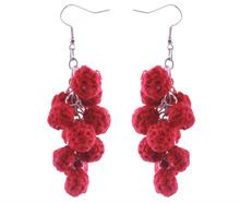 Cherry Bunch Earring